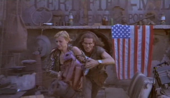 American Cyborg: Steel Warrior (1993) – baby on board