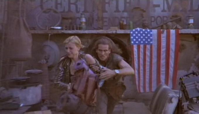 American Cyborg: Steel Warrior (1993) – baby onboard